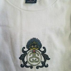 1990s Vintage Stussy Dragon t-shirt